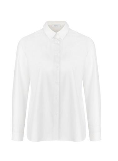 Sırtı Dantelli Gömlek-Ipekyol